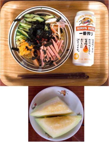 実家飯20200809昼食